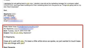 Email to Old Clients Template Email to Old Clients Template Template Business