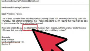 Email to Professor Template Email format to Professor Slim Image