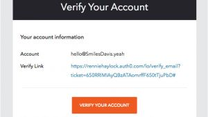 Email Verification HTML Template Confirmation Really Good Emails
