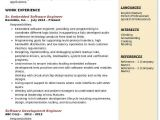 Embedded Engineer Resume 1 Year Experience Doc Embedded software Engineer Resume Samples Qwikresume
