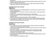 Embedded Engineer Resume 1 Year Experience Doc Resume Samples for Jobs In Canada How to Write A Good