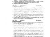Embedded Engineer Resume 2 Year Experience Combination Executive Embedded software Engineer Resume