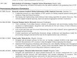 Embedded Engineer Resume 2 Year Experience Download Embedded software Engineer Resume for Free Page