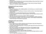 Embedded Engineer Resume 2 Year Experience Embedded software Engineer Resume Samples Velvet Jobs