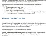 Emergency Communications Plan Template 3 Crisis Communication Plan Templates Doc Pdf Free