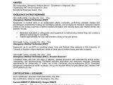 Emergency Medical Technician Resume Template Emt Sample Resume Best Professional Resumes Letters