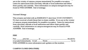 Emergency Message Templates Emergency Message Templates Free Download
