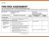 Emergency Risk assessment Template assessment Fire Risk assessment form