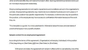 Employee Contracts Templates Free 18 Job Contract Templates Word Pages Docs Free