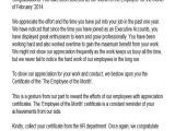 Employee Recognition Email Template 41 Appreciation Letters In Pdf
