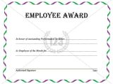 Employee Service Award Certificate Template 17 Employee Award Icon Images Employee Of the Month
