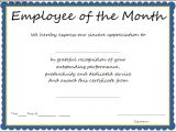 Employee Service Award Certificate Template Interesting Certificate Template Example for Employee Of