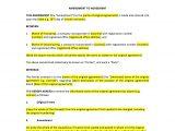 Employment Contract Amendment Template Amendment to Agreement Template Uk Template Agreements