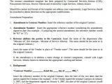 Employment Contract Amendment Template Sample Contract Amendment Template 11 Documents In Pdf