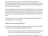 Employment Contract Template Australia Employment Contracts Templates Australia Templates