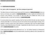 Employment Contract Template Australia Part Time Employment Contracts Template