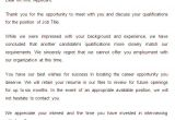 Employment Rejection Email Template 27 Rejection Letters Template Hr Templates Free
