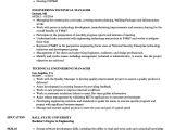 Engineer Coordinator Resume Technical Engineering Manager Resume Samples Velvet Jobs