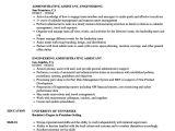 Engineer Helper Resume Engineering Administrative assistant Resume Samples