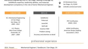 Engineer Professional Resume Template Engineering Resume Example Writing Tips Resume Genius
