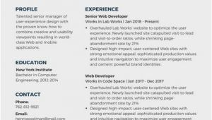 Engineer Resume Canva Free Resume Templates Canva Resume Examples