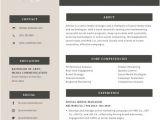 Engineer Resume Canva Professional Resume Templates Canva