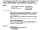 Engineer Resume Career Objective Electrical Engineer Resume Objectives Resume Sample