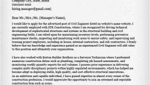 Engineer Resume Cover Letter Template Civil Engineering Resume Sample Resume Genius