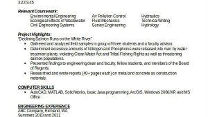 Engineer Resume Entry Level Engineering Resume Template 32 Free Word Documents