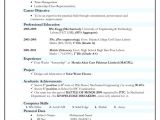 Engineer Resume Font Resume format for Diploma Mechanical Engineer Experienced