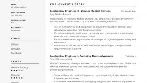 Engineer Resume Guide Mechanical Engineer Resume Writing Guide 12 Templates