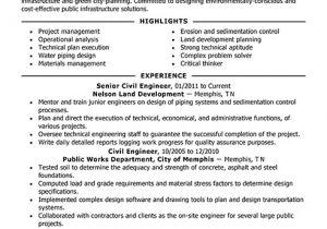Engineer Resume Headline Best Civil Engineer Resume Example Livecareer