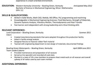 Engineer Resume Headline What is the Best Resume Title for Mechanical Engineer