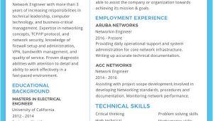Engineer Resume Maker 6 Network Engineer Resume Templates Psd Doc Pdf