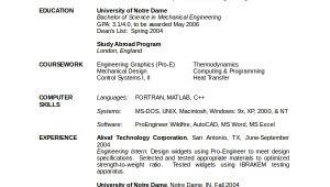 Engineer Resume Mechanical 10 Engineering Resume Template Free Word Pdf Document