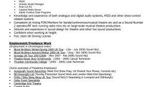 Engineer Resume Music Amazing Design Audio Engineer Resume 13 Audio Engineer