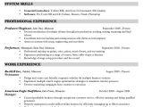 Engineer Resume Music Music Production Resume Sample Http Resumesdesign Com