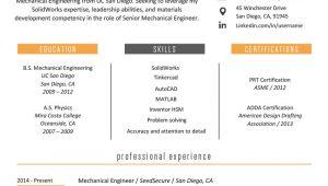 Engineer Resume Profile Engineering Resume Example Writing Tips Resume Genius
