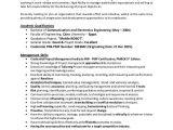 Engineer Resume Profile Examples Pmp Rf Engineer Resume