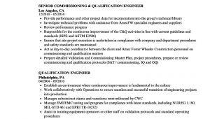 Engineer Resume Qualifications Qualification Engineer Resume Samples Velvet Jobs