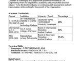 Engineer Resume Sample for Freshers 40 Fresher Resume Examples