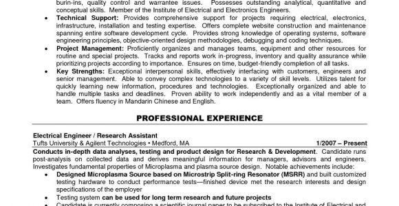 Engineer Resume Words Electrical Engineer Resume Template Word Mbm Legal