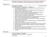 Engineer Technician Resume Example Civil Engineer Technician Resume Sample Livecareer