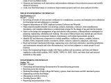 Engineer Technician Resume Example Engineering Technician Resume Samples Velvet Jobs