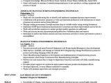 Engineer Technician Resume Example Manufacturing Engineering Technician Resume Samples