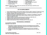 Engineering Resume Model Objectives Of the Job are Very Important You Need to