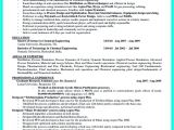 Engineering Resume Objective Successful Objectives In Chemical Engineering Resume