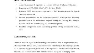Engineering Resume Summary Sample software Engineer Resume 8 Examples In Word Pdf