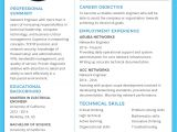 Engineering Resume Templates Word Free Basic Network Engineer Resume and Cv Template In