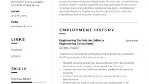 Engineering Resume Writer Engineering Technician Resume Writing Guide 12